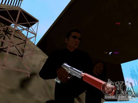 Ice Weapon Pack para GTA San Andreas segunda tela