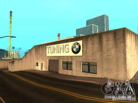 Concessionária BMW em San Fierro para GTA San Andreas terceira tela