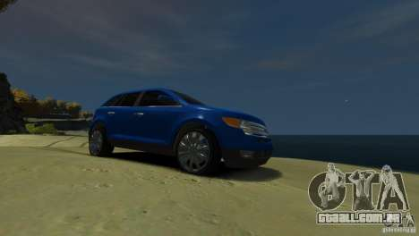 Ford Edge 2007 para GTA 4 vista de volta