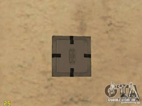 Os explosivos de cod mw2 para GTA San Andreas