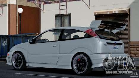 Ford Focus SVT para GTA 4 esquerda vista