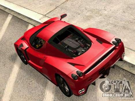 Ferrari Enzo Novitec V1 para GTA San Andreas vista direita