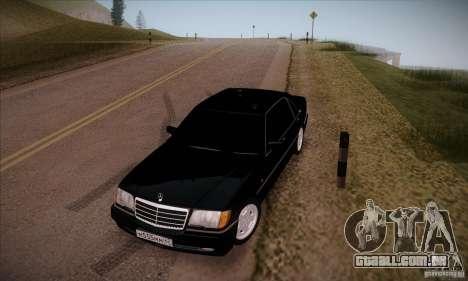 Mercedes-Benz 600SEL AMG 1993 para GTA San Andreas vista traseira