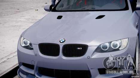 BMW M3 Hamann E92 para GTA 4 rodas