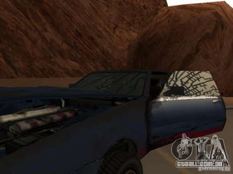 Rusty imperador do GTA 4 para GTA San Andreas vista interior