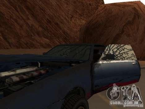 Rusty imperador do GTA 4 para GTA San Andreas vista interior