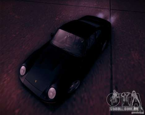 Porsche 959 1987 para GTA San Andreas vista inferior