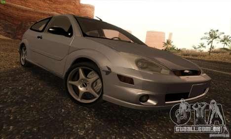 Ford Focus SVT TUNEABLE para GTA San Andreas