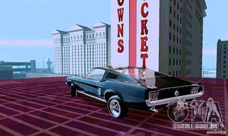 Ford Mustang 1967 para GTA San Andreas esquerda vista