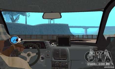 LADA 21103 v. 1.1 para GTA San Andreas vista traseira