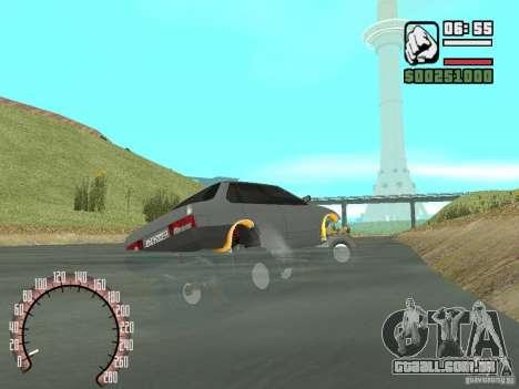 Vaz 21099 4 x 4 para GTA San Andreas traseira esquerda vista