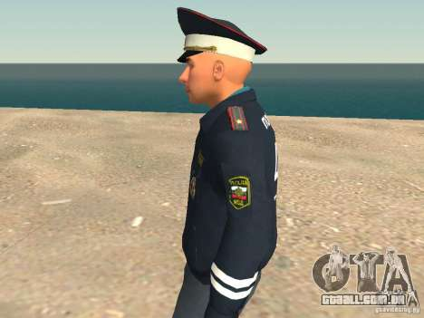 Major DPS para GTA San Andreas quinto tela