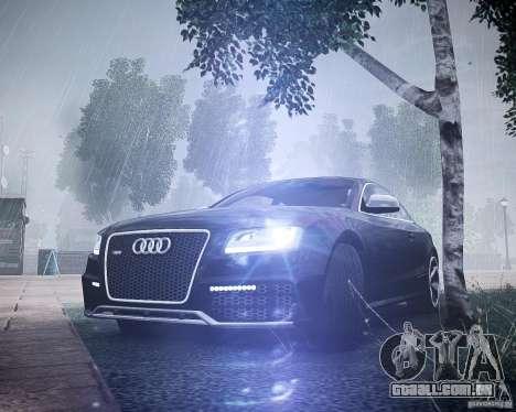 Audi RS5 2010 para GTA 4 vista de volta
