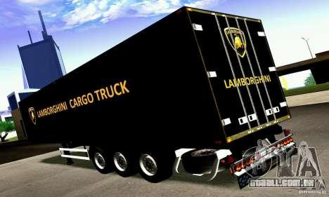 Lamborghini Cargo Truck para GTA San Andreas