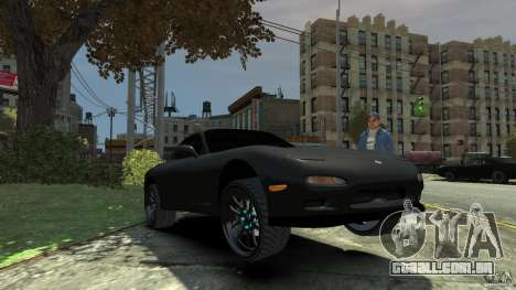 Mazda RX7 1995 Black [EPM] para GTA 4 vista inferior
