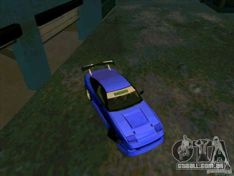 Nissan 240SX Drift Team para GTA San Andreas vista direita