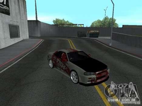 Nissan Skyline R 34 para GTA San Andreas