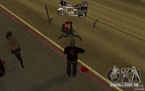 CLEO mod: renovação de pedestres v 1.0 para GTA San Andreas segunda tela