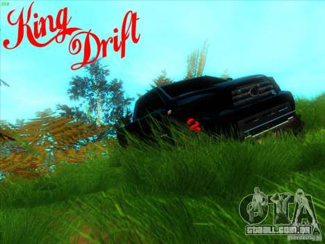 Toyota Tundra OFF Road Tuning para vista lateral GTA San Andreas