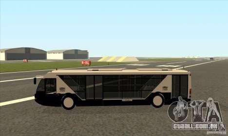 Neoplan Airport bus SA para GTA San Andreas esquerda vista