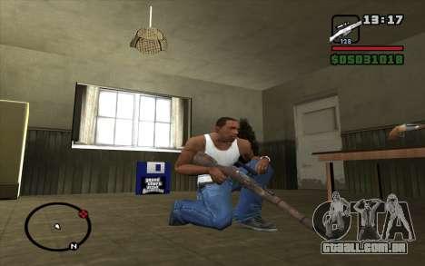Espingarda Mosin para GTA San Andreas