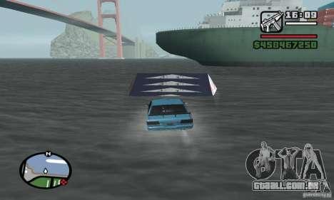 O trampolim para GTA San Andreas