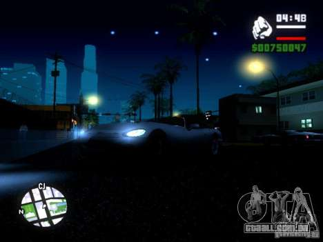 ENBSeries Medium PC para GTA San Andreas por diante tela