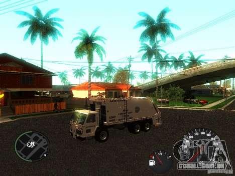 Limpador de GTA 4 para GTA San Andreas traseira esquerda vista