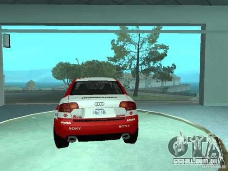 Audi RS4 para as rodas de GTA San Andreas