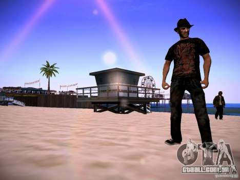 Niko Bellic Reload Beta 0.1 para GTA San Andreas terceira tela