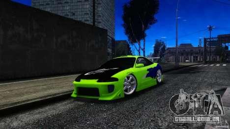 Mitsubishi Eclipse GSX FnF para GTA 4