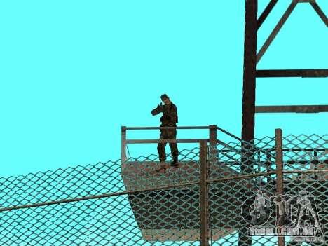 Animada área 69 para GTA San Andreas por diante tela