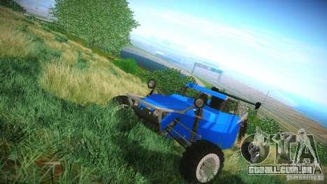 Buggy V8 4x4 para GTA San Andreas esquerda vista