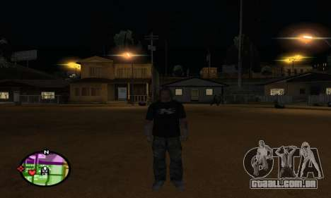 Triple H para GTA San Andreas quinto tela