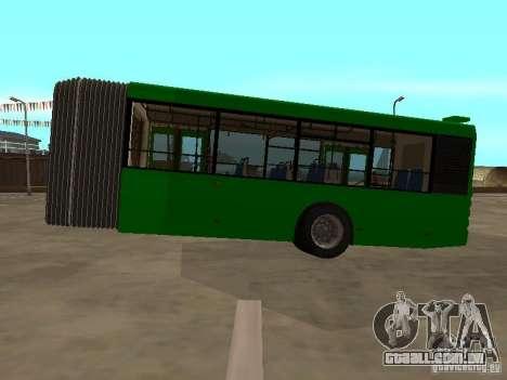 Trailer de Liaz 6213.20 para GTA San Andreas esquerda vista