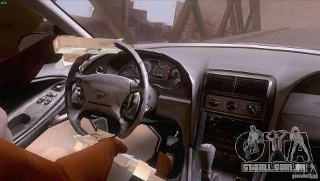 Ford Mustang GT 1999 para GTA San Andreas interior
