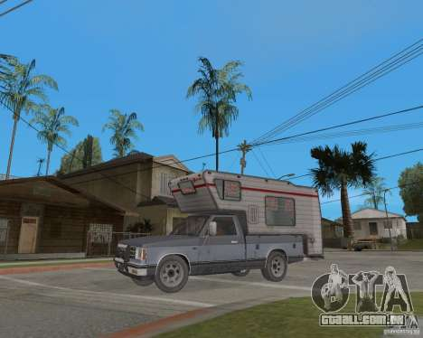 Chevrolet S-10 Kemper v2.0 para GTA San Andreas esquerda vista