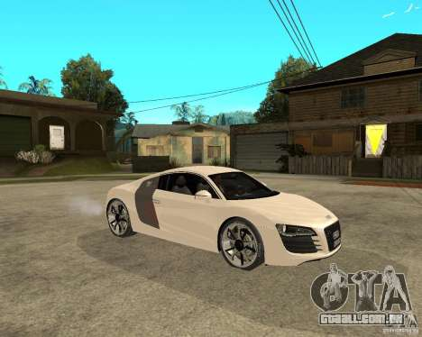Audi R8 light tunable para GTA San Andreas vista direita
