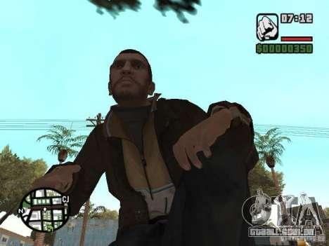Niko Bellic para GTA San Andreas décima primeira imagem de tela