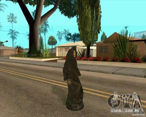 Morte para GTA San Andreas por diante tela