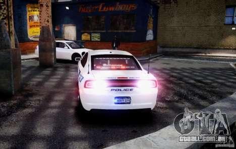 Dodge Charger 2012 Slicktop ELS para GTA 4 esquerda vista