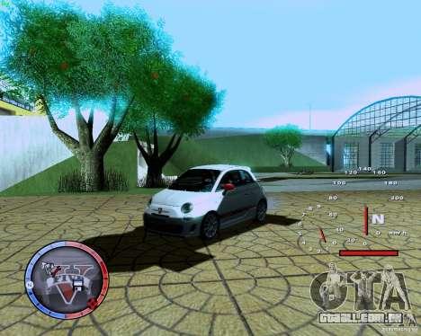 Fiat 500 Abarth para GTA San Andreas