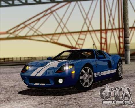 SA_NGGE ENBSeries v 1.1 para GTA San Andreas segunda tela