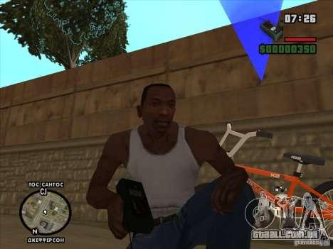 O detonador para GTA San Andreas terceira tela