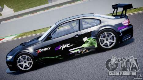 BMW M3 GT2 Drift Style para GTA 4 vista lateral