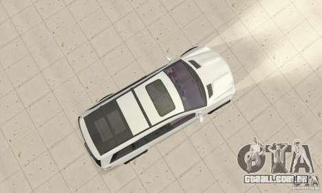 Mercedes-Benz GL450 para GTA San Andreas vista direita