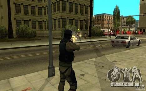 Forças especiais-CJ para GTA San Andreas sexta tela