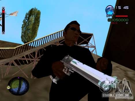 Ice Weapon Pack para GTA San Andreas décimo tela