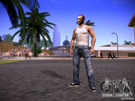 Niko Bellic Reload Beta 0.1 para GTA San Andreas segunda tela