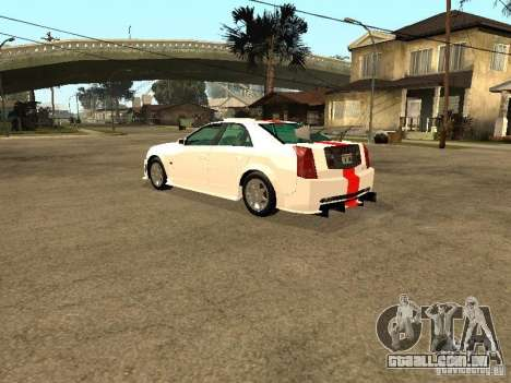 Cadillac CTS 2003 Tunable para GTA San Andreas vista inferior
